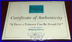 Wdcc Sleeping Beauty Dress A Princess Can Be Proud Of Le Disney Figurine No Dome