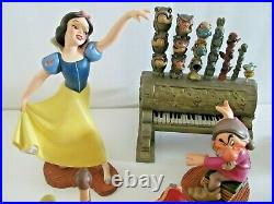 Wdcc Snow White And The Seven Dwarves Complete Set Walt Disney Dwarf