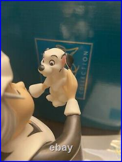 Wdcc nanny cook 101 dalmations look heres lucky With Box And Coa